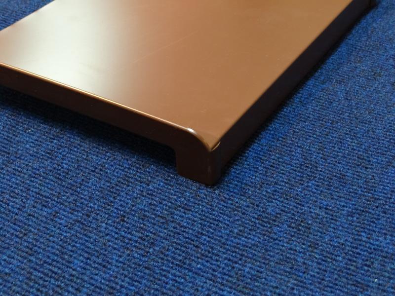 заглушка для отлива коричневая вот для наполнения